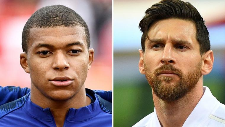 Leo Messi y Kylian Mbappé lideran la Bota de Oro 2019