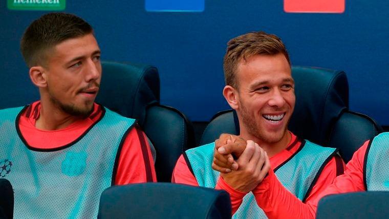 PRECAUCIÓN: El Barça 'mima' a Clément Lenglet para evitar una lesión muscular