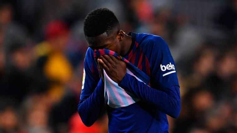 OFICIAL: El Barça hace oficial el diagnóstico sobre el tobillo de Ousmane Dembélé