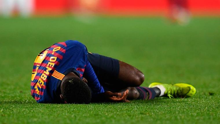 Estos son los partidos que Ousmane Dembélé se perderá con el Barça