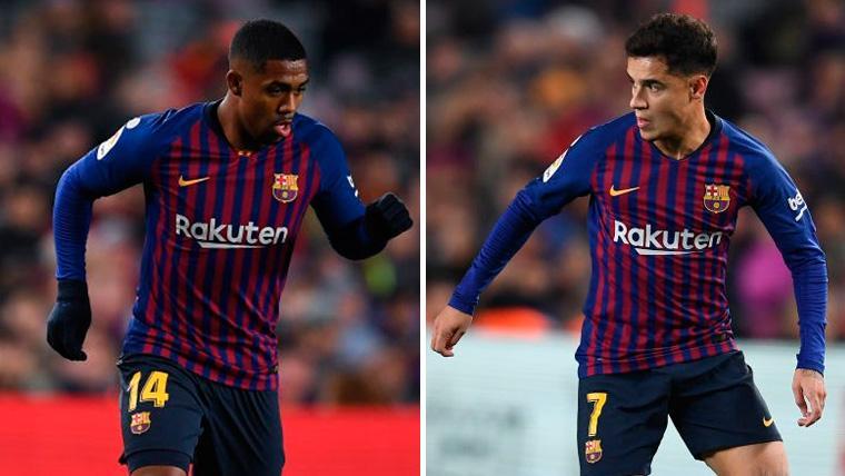 Sin Dembélé, oportunidad de oro: Coutinho y Malcom quieren ser protagonistas