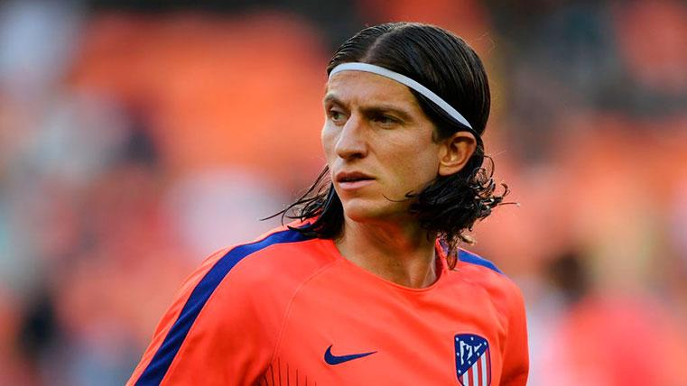 Filipe Luis defiende a Messi tras no haber ganado el Balón de Oro