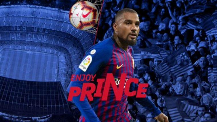 El dorsal que lucirá Kevin-Prince Boateng en el FC Barcelona