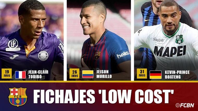 Golpe en la mesa del Barça: tres 'chollos' prácticamente gratis