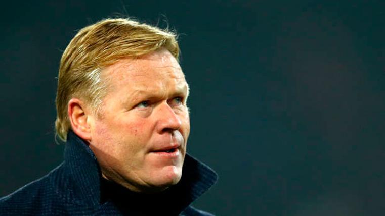 Ronald Koeman alerta al Barça de un grave problema de futuro