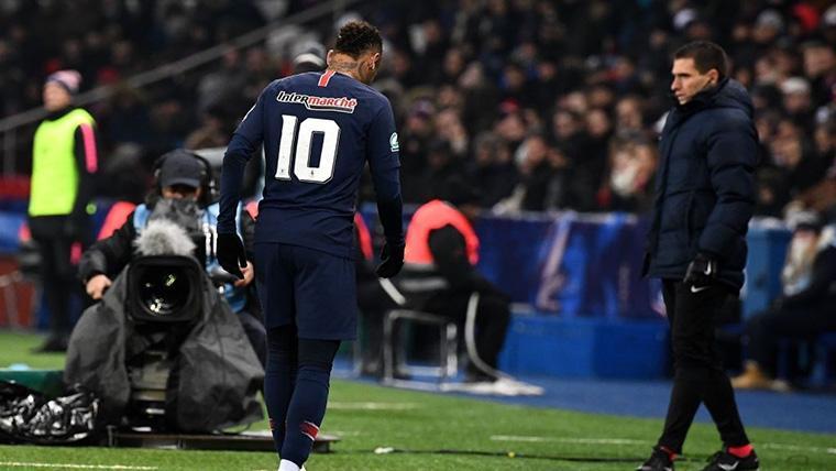 ¡Neymar se lesiona y se marcha llorando del PSG-Estrasburgo!