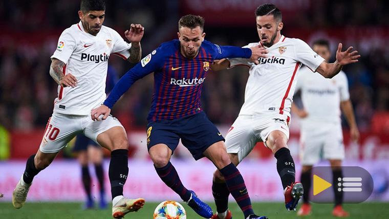 Vídeo resumen: Sevilla 2 FC Barcelona 0 (Copa del Rey)