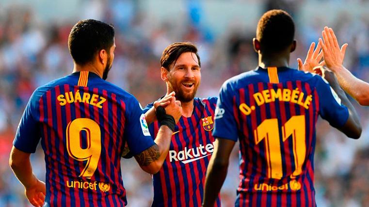 El Barcelona echó de menos a la 'MSD' ante el Sevilla en Copa
