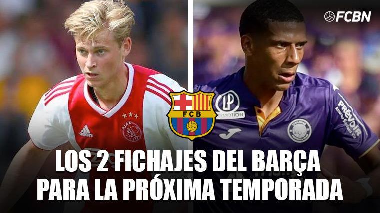 Golpe de efecto del Barcelona: De Jong y Todibo, fichajes anticipados para la 2019-20