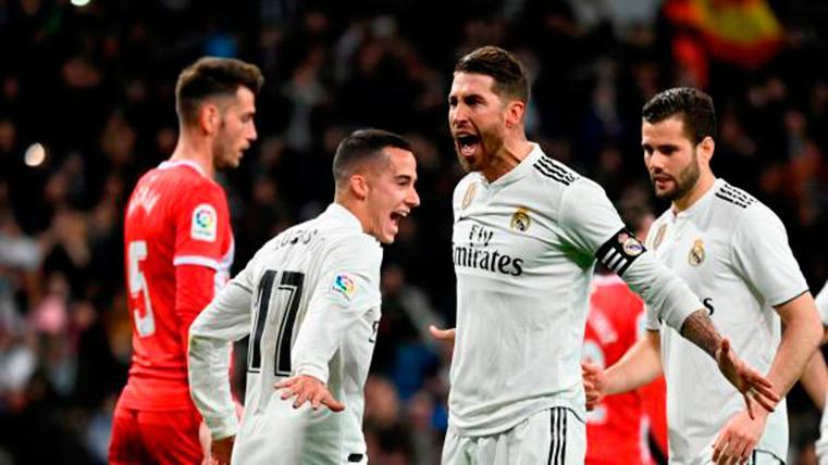 El Real Madrid pone pie y medio en semifinales de Copa (4-2)