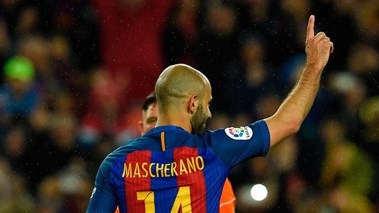 Mascherano se acordó del Barça tras cumplirse un año de su marcha
