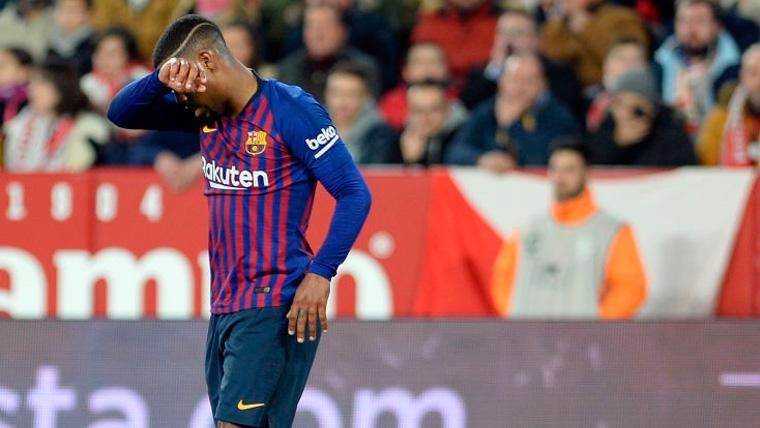 El Barça se centra en recuperar a un Malcom que está muy 'tocado' anímicamente