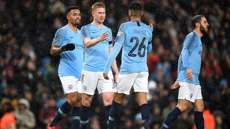 El Manchester City vuelve a darse un festín de goles en la FA Cup