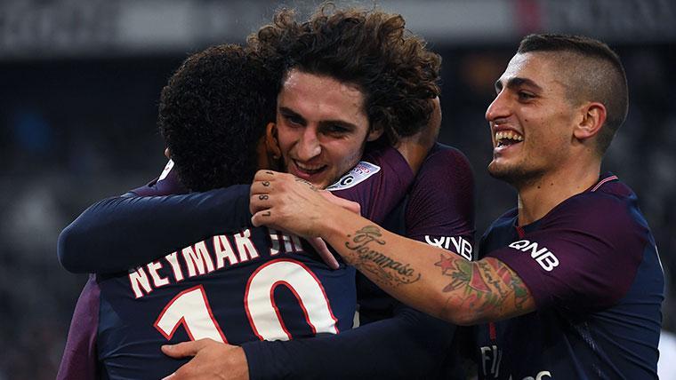 Serge Aurier pide a Adrien Rabiot que fiche por el Tottenham