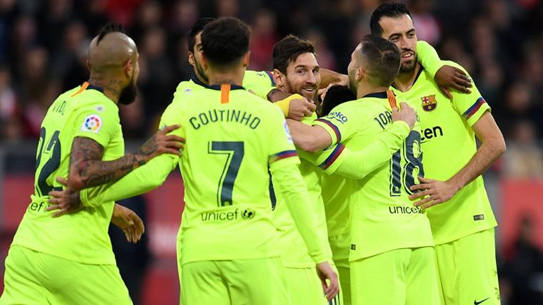 ¡Elegancia pura! Vaselina sutil de Leo Messi para sentenciar el Girona-Barcelona