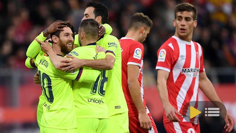 Vídeo resumen: Girona 0 FC Barcelona 2 (LaLiga J21)