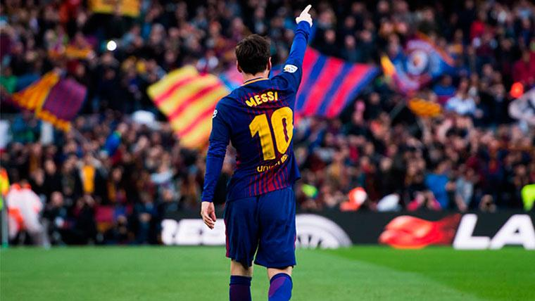 Llamamiento de Messi a los aficionados del Barça para la Copa: En busca de la remontada