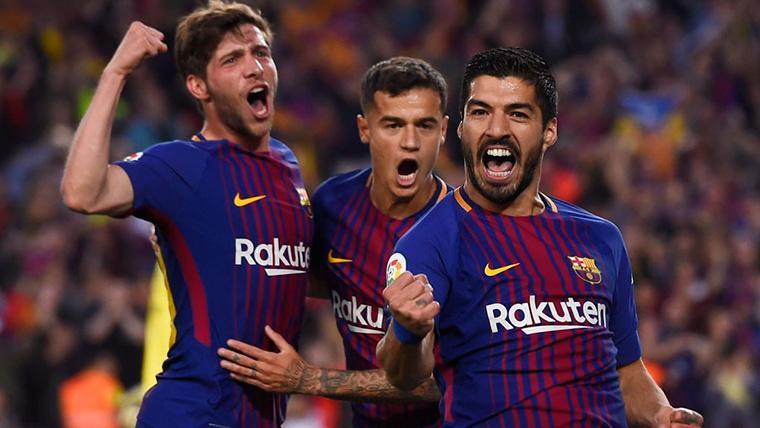 ¡Doblete de Coutinho y gol de Sergi Roberto para culminar la remontada del Barça!