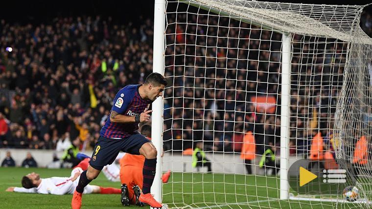 Vídeo resumen: FC Barcelona 6 Sevilla 1 (1/4 Copa del Rey)