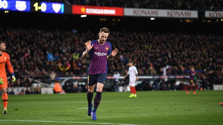 Toque de atención de Rakitic a Bartomeu para seguir en el Barça