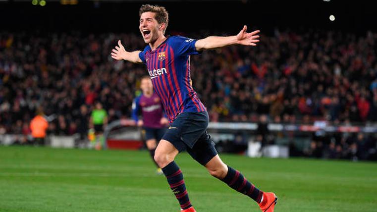 Sergi Roberto, el talismán goleador de las noches de remontada en el Camp Nou