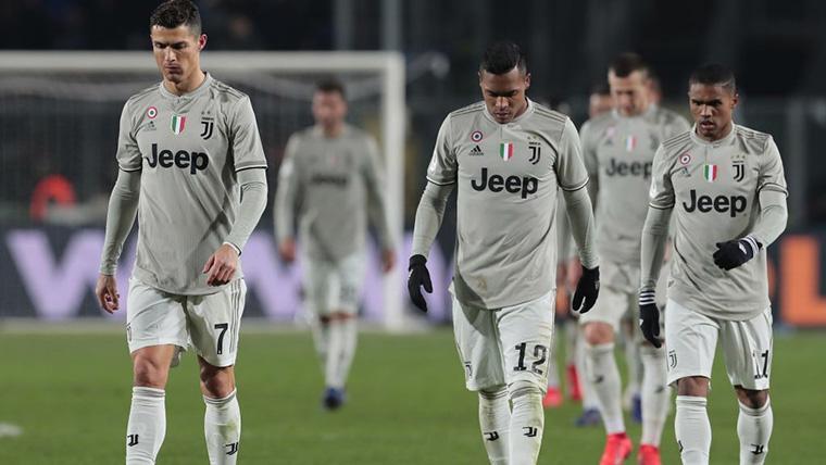 Cristiano se queda sin triplete: La Juventus, eliminada de la Coppa
