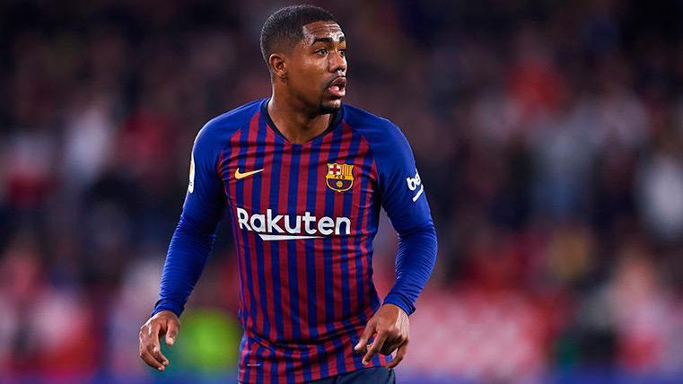 Malcom se quedará en el Barça hasta final de temporada
