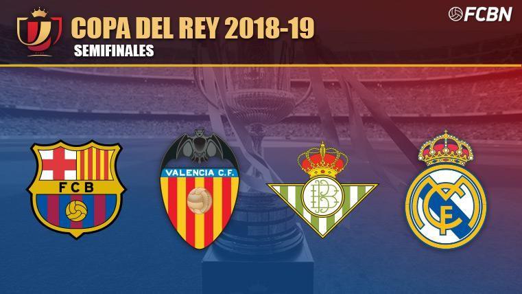 Estos Son Los Cuatro Semifinalistas De La Copa Del Rey 2018 19