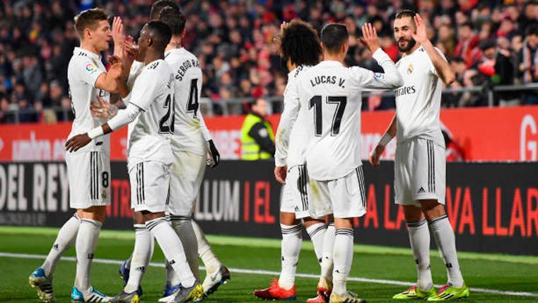 Nuevo golpe de autoridad del Real Madrid ante el Girona (1-3)
