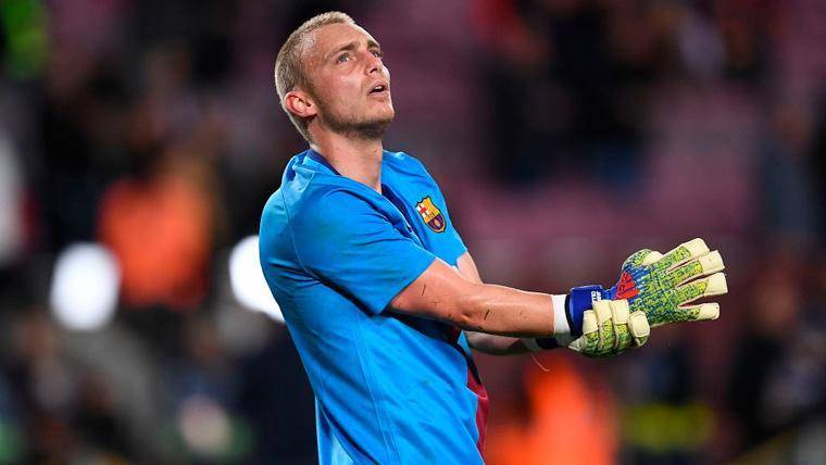 BAJA: El Barça pierde a Jasper Cillessen un mes y medio por una lesión muscular