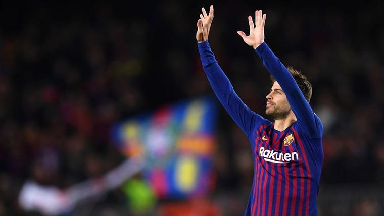 Gerard Piqué cumple 32 años en un estado de forma brillante
