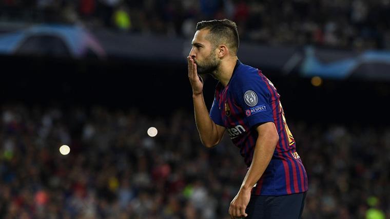 Jordi Alba está desatado desde que Neymar se fue del Barça