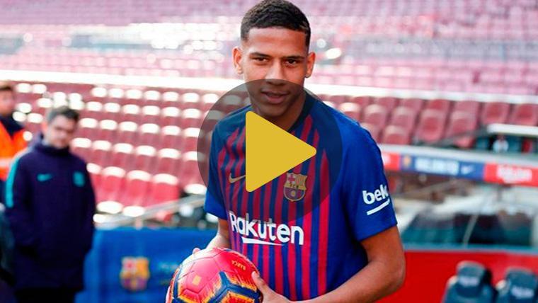 Todibo genera ilusión en el FC Barcelona y en la afición culé