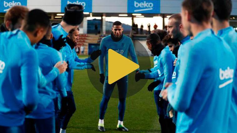 Todibo ya entrena con el Barça, pero no será inscrito en Champions