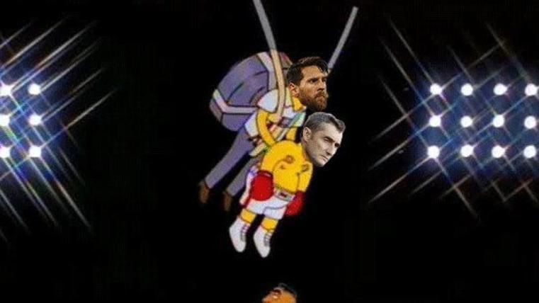 Estos son los mejores 'memes' del FC Barcelona-Valencia