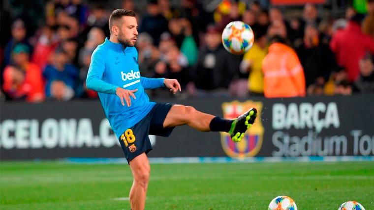 Valverde ya ha probado a cuatro jugadores en el puesto de Jordi Alba
