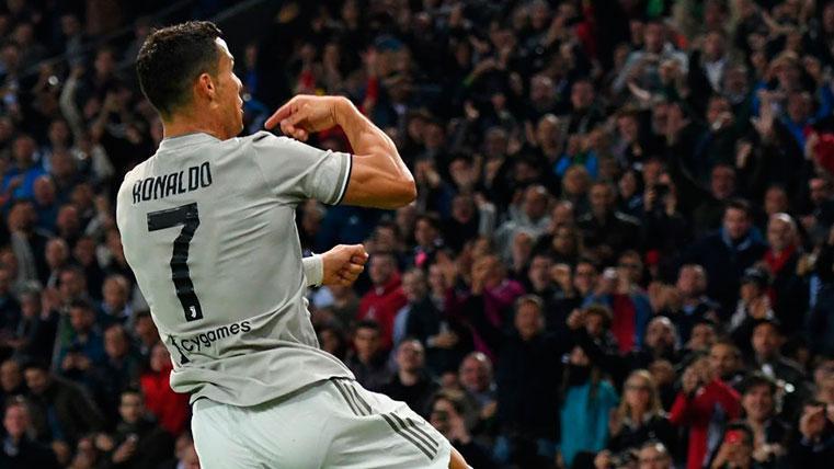 'Doblete' de Cristiano Ronaldo que no da la victoria a la 'Juve'