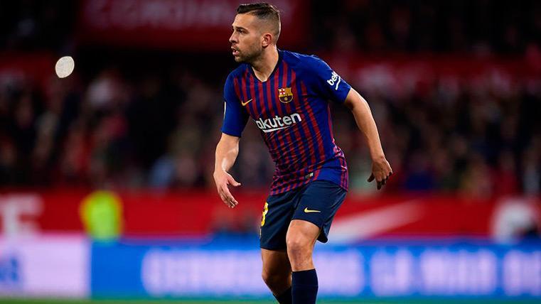 El FC Barcelona y Jordi Alba acercan posturas para su renovación en una nueva reunión