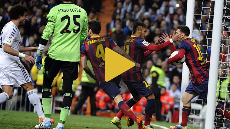 Los mejores goles del FC Barcelona al Real Madrid en los Clásicos de Copa