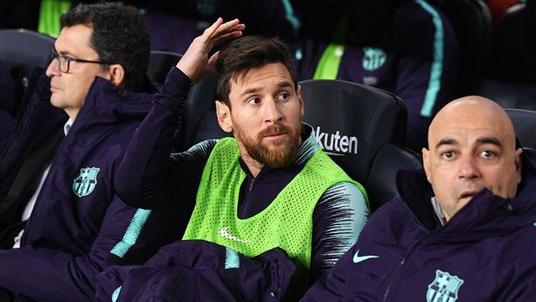 SORPRESÓN: ¡Leo Messi, suplente! Malcom le relevó en el once