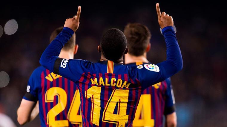 ¡Malcom 'resucita' al Barcelona con un golazo al Real Madrid!