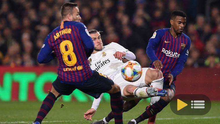 Vídeo resumen: FC Barcelona 1 Real Madrid 1 (Copa del Rey)