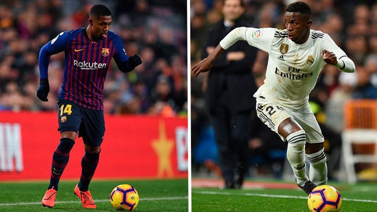 Malcom 1, Vinicius 0: El Barça ganó el duelo de 'perlas' brasileñas en el Camp Nou
