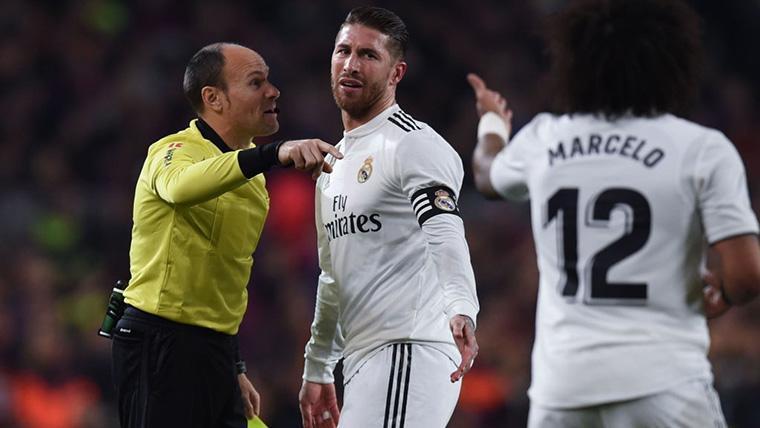 Sergio Ramos 'enciende' la vuelta de semifinales contra el Barça