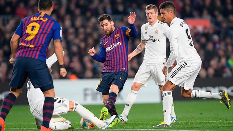 La historia favorece al Madrid para la vuelta: El Barça solo pasó una vez con 1-1
