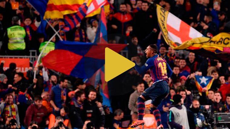 El Camp Nou registró su segunda mejor entrada de la temporada