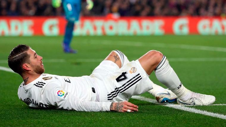 El peligroso triplete de Sergio Ramos: Apercibido en Liga, Champions y Copa del Rey