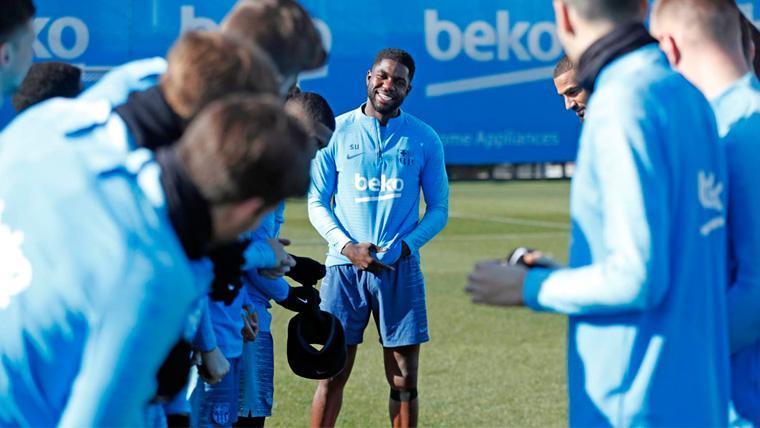 Ilusión moderada en el Barça tras los primeros exámenes de Umtiti
