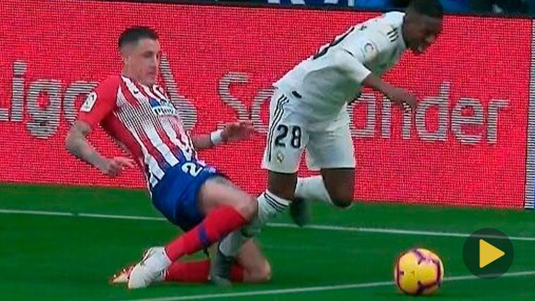 Vinicius Jr, protagonista con polémica en el Atlético-Real Madrid