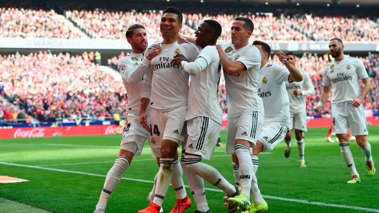 El Real Madrid arrolla al Atlético y va en serio a por LaLiga (1-3)